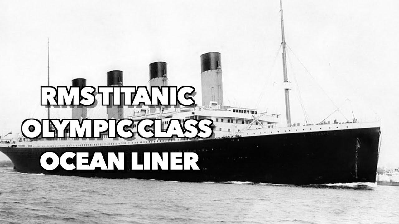 Kapal jubah besi kerajaan, Titanic (gambar dari: https://www.youtube.com/watch?v=TLfqB-3o4OM)