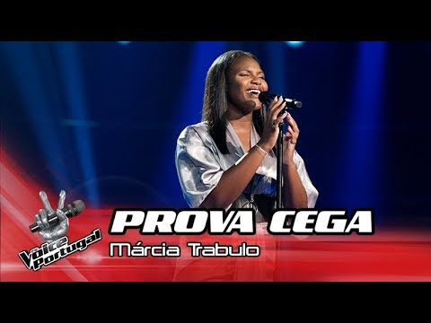 Márcia Trabulo -  Never Enough  | Prova Cega | The Voice Portugal
