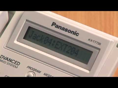 Panasonic KXTA KXTE extension name.mpg