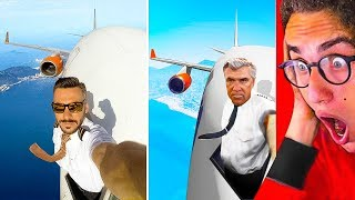 INTENSE GTA 5 vs. REAL LIFE CHALLENGE!