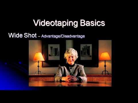 Basic Video Production Skills