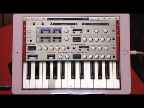 EDEN SYNTH from NANOSTUDIO Quick Play Demo for the iPad
