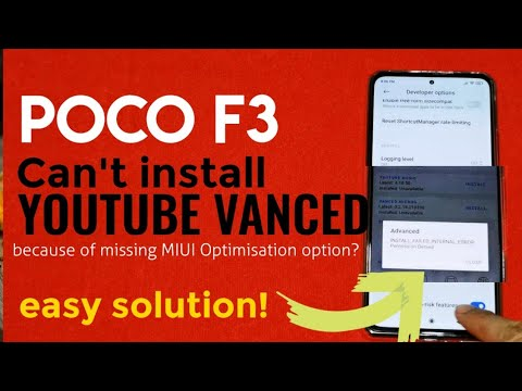 Install Youtube Vanced on Poco F3 | Error Solved