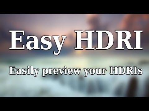 Easy HDRI - Blender add-on - Most Popular Videos