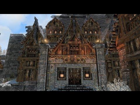 Hjerim (Sokkvabekk version) - Skyrim Special Edition House Mod