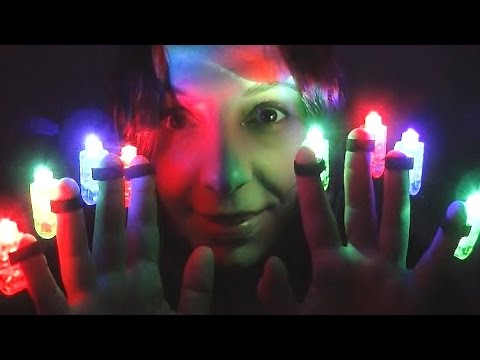 ASMR Lights In the Darkness: 3D Binaural and Visual Triggers to Make You Tingle and Relax