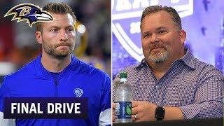 Sean McVay Calls Greg Roman's Offense 'Very Rare' | Ravens Final Drive