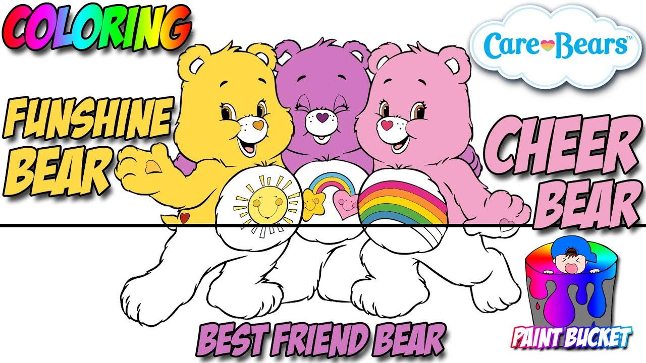 care bears coloring pages for kids care bears coloring book to