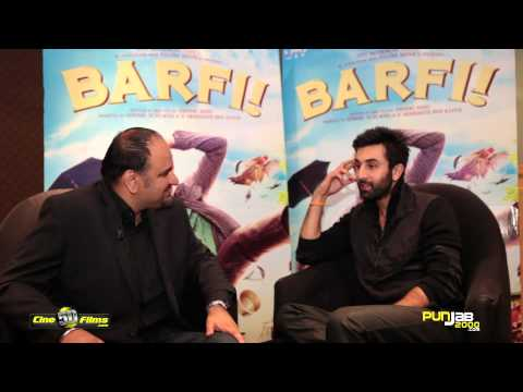 Barfi Interview by Harjap Singh Bhangal with Ranbir Kapoor about his new Bollywood movie Barfi  [HD]