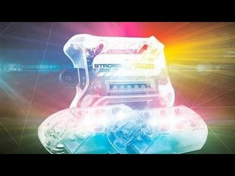 ESTROBO LED RGB AJK MUITO TOP E MUITO FORTE!