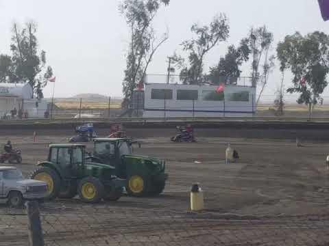 Lemoore Raceway KOFC Rd8 6/9/18 Jr Sprint Heat 1A Ty