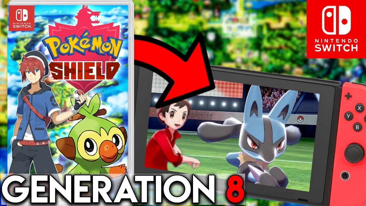 Pokemon Generation 8 Enthullt Pokemon Schwert Schild