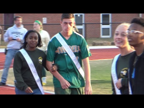 Homecoming Court Game Introductions
