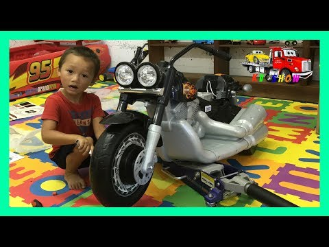 UNBOXING ASSEMBLING The Fisher-Price Power Wheels Ride On Harley-Davidson Cruiser 12 Volt