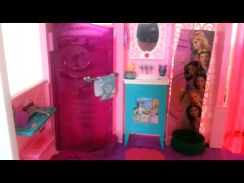 Barbie and her children dream house tour update #2