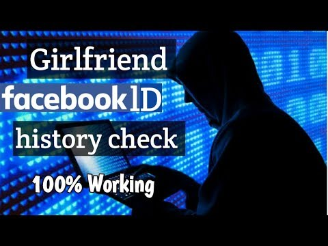 #how To See Girlfriend Facebook Id History Check 100% Working By Two Point Tech