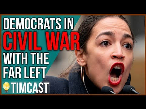 Far Left Democrats Declare WAR On Moderates Threatening The Democratic Party