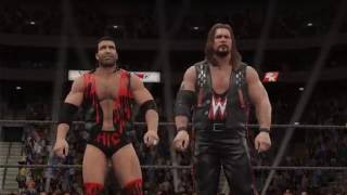 WWE 2K17 Gameplay DDP and Sting vs. The Outsiders (PS4, Xbox One)