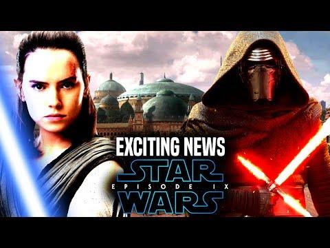 Star Wars Episode 9 Exciting News & Update! (Star Wars News)
