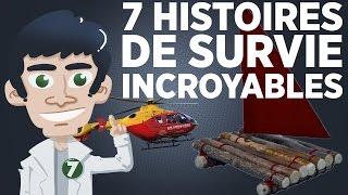 7 histoires de survie incroyables