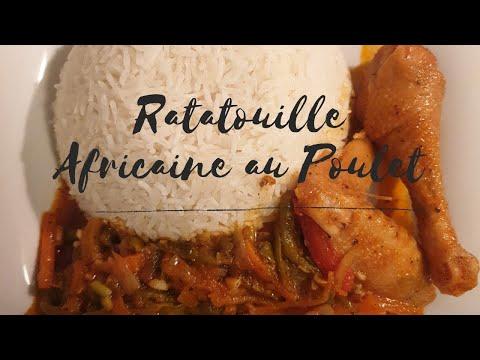 recette-de-sauce-aux-legumes-et-poulet---ratatouille-au-riz-et-poulet---cuisine-facile-et-inratable