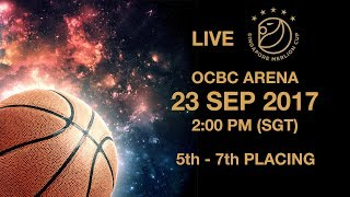 Basketball 🏀 Battle for fifth place NLEX-SCTEX vs  Yulon Luxgen Dinos | Singapore Merlion Cup 2017