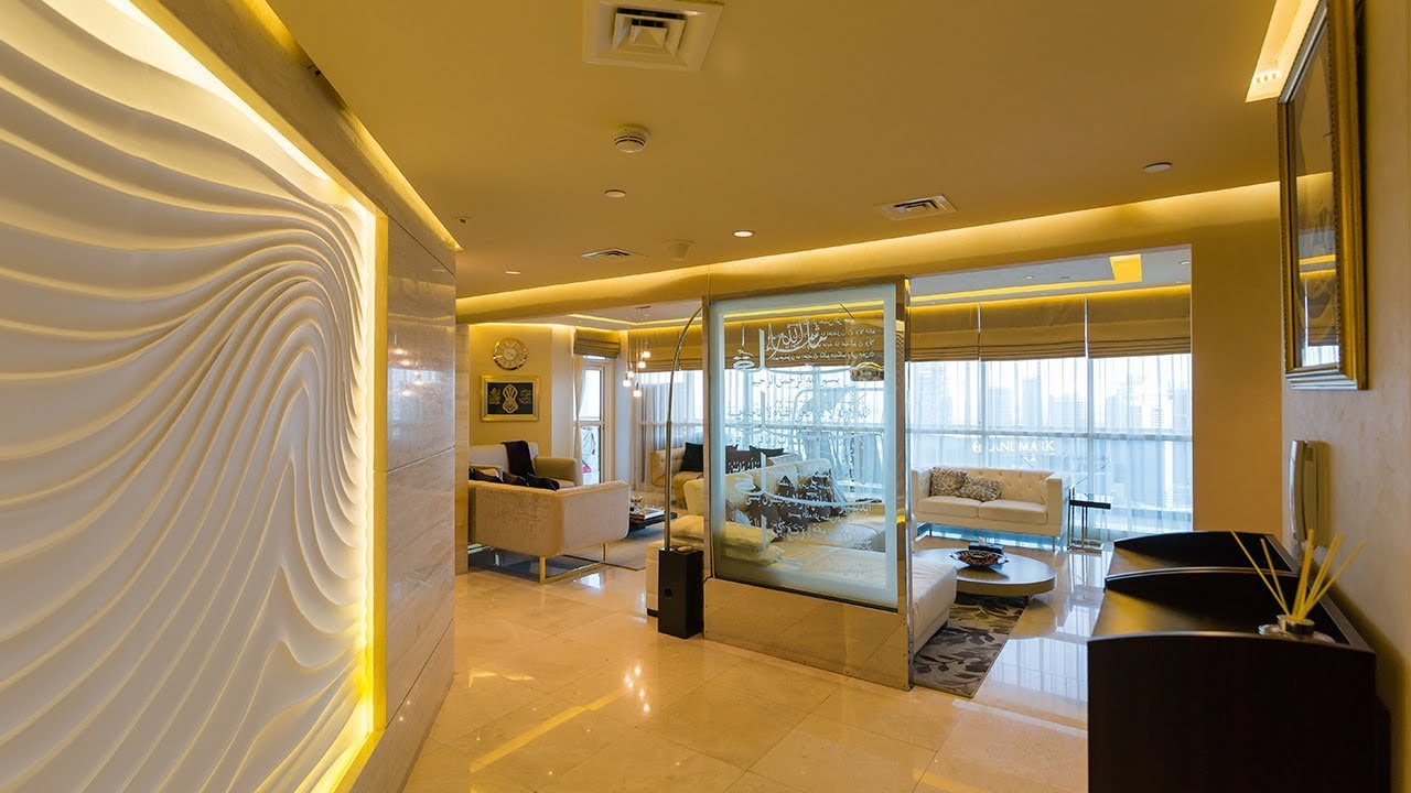 A Luxurious Apartment With Spectacular