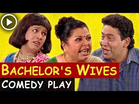 Bachelor's Wives - Comedy Play (English) - Shubha Khote - Bhavana Balsaver