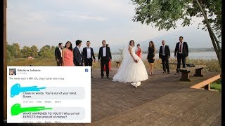 Bride RUlNED Her Wedding After Family & Friends REFUSE To Pay For It