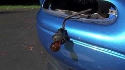 Miata MX5 1991 model Front Turn Signal Driving Light Lens Replacement & Buff -  MIATA STREET