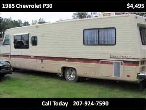 1985 Chevrolet P30 Used Cars Corinna ME