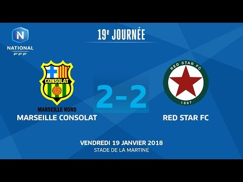 J19 : Marseille Consolat - Red Star (2-2), le replay I FFF 2018
