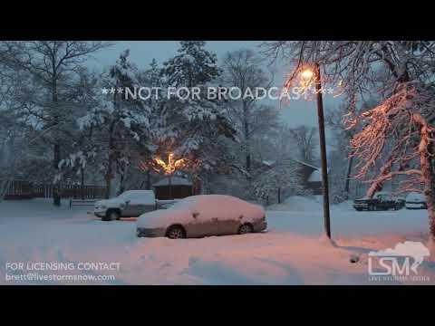 12-27-18 Nisswa, MN - Snow Storm