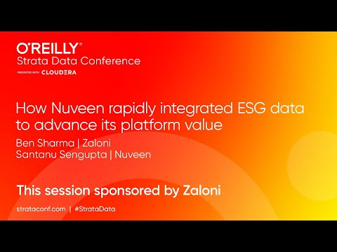 How Nuveen Rapidly Integrated ESG Data to Advance its Platform Value