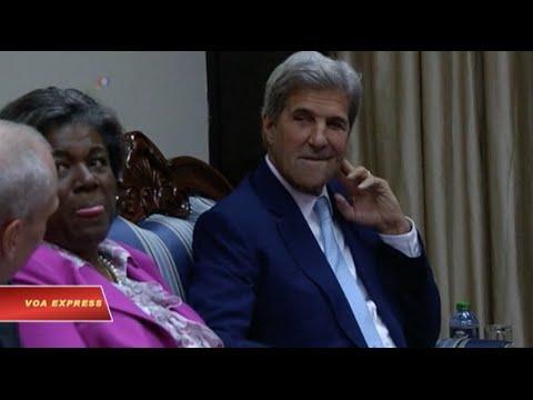 Ngoại trưởng Mỹ tới Kenya, giúp Nam Sudan tránh cảnh nội chiến