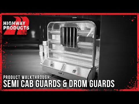 Highway Products | Semi Truck Cab Guards