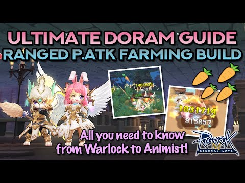 ULTIMATE DORAM RANGED PHYSICAL BUILD FOR FARMING | Skills, Stats, Runes, Equipment, Tips & MORE!!
