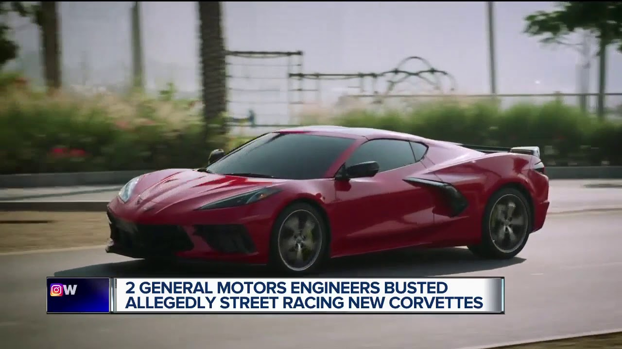GM employees accused of street racing Corvettes in Kentucky