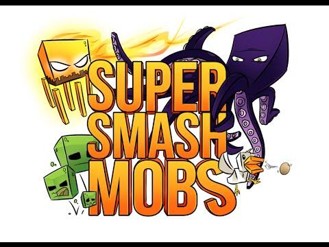 Minecraft Super Smash Mobs #13 - Scontri illegali w/ Marcy