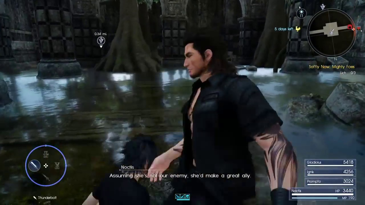 Aranea\'s Pretty Badass - Final Fantasy XV Quotes