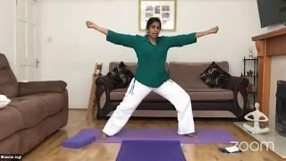 10.06.2020 - Hatha Yoga By Bhavnaben Jogi