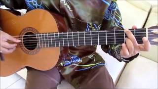 Michael Buble Home Guitar Lesson ( Intro ) - Guitar Lessons for Beginners