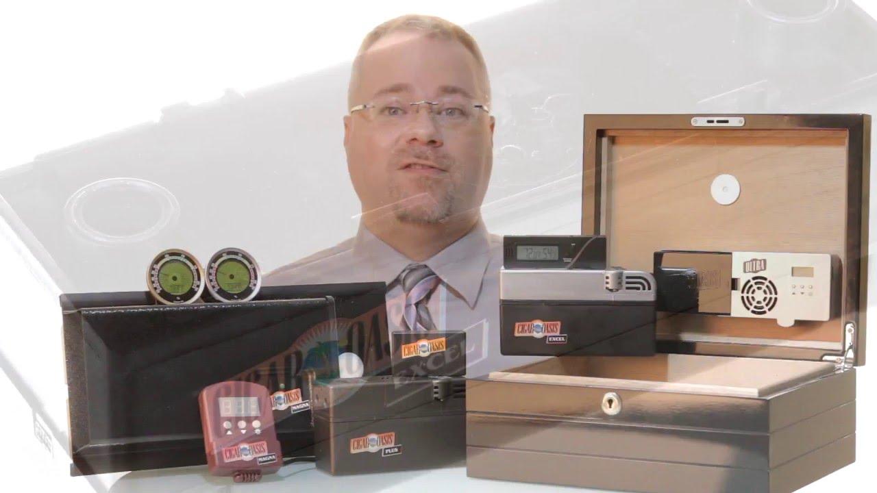 Cigar Oasis Magna 2.0 Humidifier Instructions