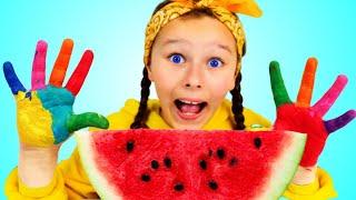 Lunch Song Spanish Version | Canciones Infantiles con Emi y Niki