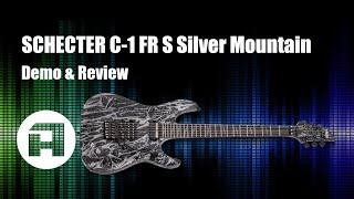 Schecter C 1 FR S Silver Mountain E-Gitarre Review & Demo