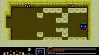 Golden Axe Warrior (Sega Master System) [Story and bosses]