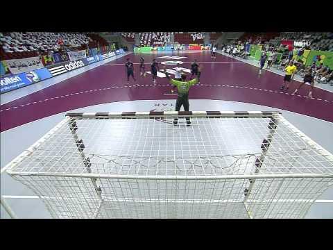 Handball SuperGlobe CA vs Al Sadd 1ère mi tp