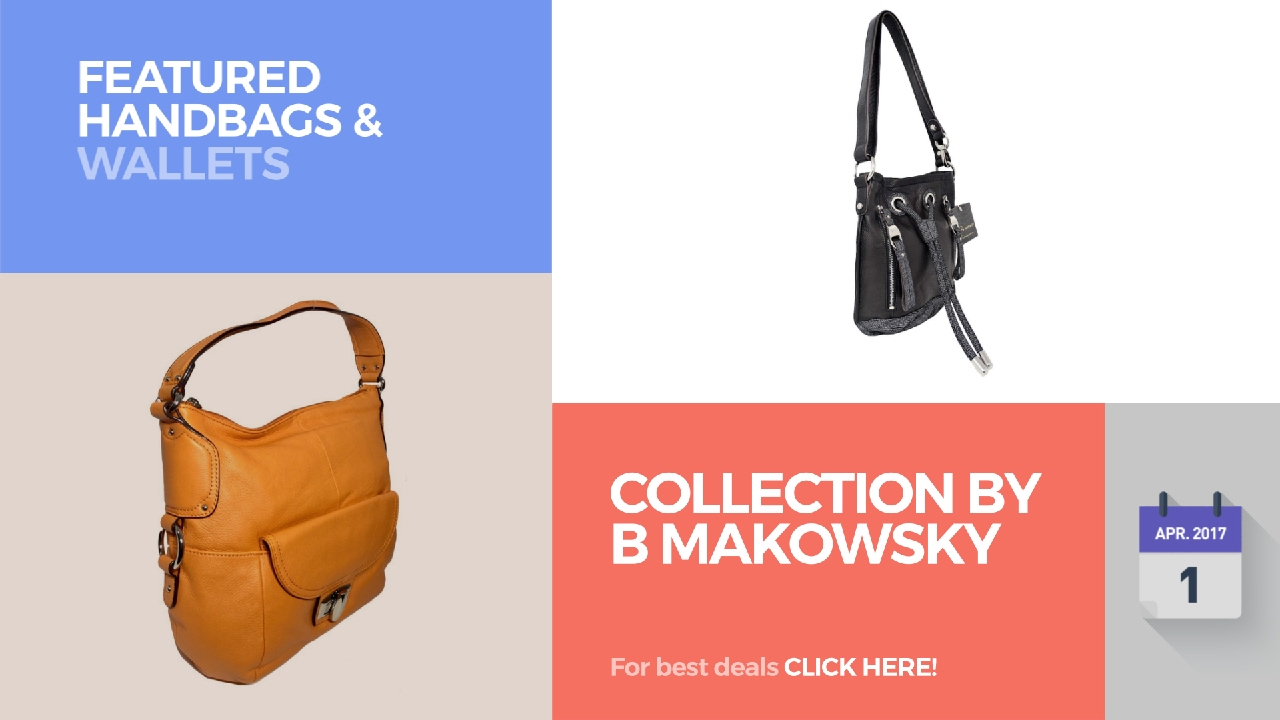 Collection By B Makowsky Featured Handbags Wallets