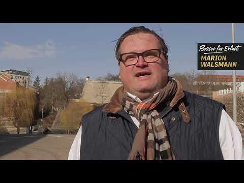 Thomas Torsten Jäger unterstützt Marion Walsmann als OB-Kandidatin für Erfurt
