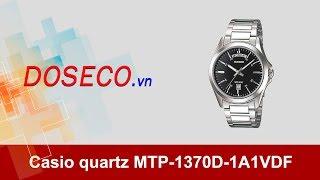 [Góc Review nhanh] #588: Đồng hồ Casio quartz MTP-1370D-1A1VDF